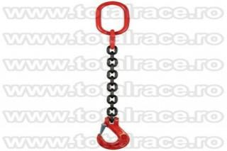 Dispozitive ridicare lant 1 brat cu carlige cu prindere direct pe lant si siguranta