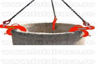 Clema ridicare tuburi beton
