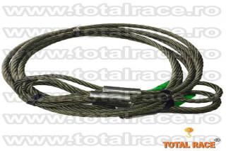 Cablu ridicare cu bucle pentru macara Total Race