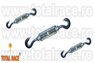 Intinzatoare cablu cu doua carlige Total Race